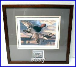 2004 # RW71 Signed Federal Duck Print & Stamp Framed Triple Matted UV Glass