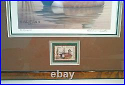 2010 # RW77 Signed Federal Duck Print & Stamp Framed Triple Matted UV Glass