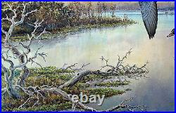 2013 Texas Waterfowl Duck Conservation Stamp Print Framed New Mint Wood Ducks