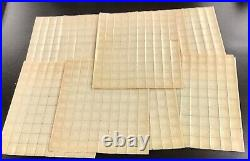 655 Edison Rotary press Printing Lot of 10 sheets NH 1000 stamps. CV $1100.00