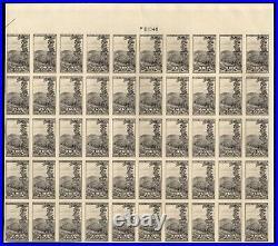 765 Farley spec printing 10c National Park Sheet of 50 Mint, NH