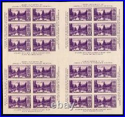 770 Farley Special Printing Souvenir Sheet of 24/ 4 panes Mint, ngai