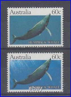AUSTRALIA 1982 60c HUMPBACK WHALE TRIAL/ESSAY PRINT MINT SINGLE (IDG3825)
