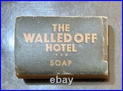 Banksy The Walled Off Hotel Bethlehem VIP BATHROOM SOAP Mint Kaws Obey Faile MBW