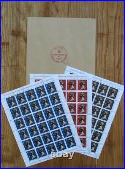 James Jimmy Cauty Stamps Of Mass Contamination Full Set Numbered Mint Condition