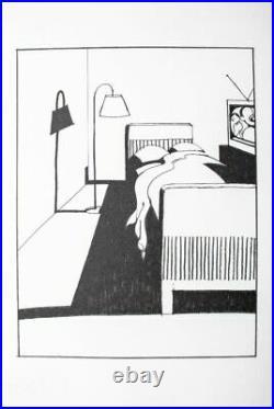 Ken Price print RARE silkscreen MINT condition art stamped Ruscha era