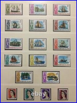 Norfolk Islands 1947/99 Lindner Printed Hingeless Album MNH LOT(App500)GM587