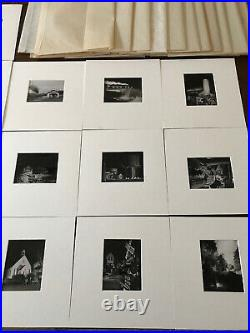 O Winston Link 1 Lot Of Stunning Vintage 4x5s Images None Signed All Stamped
