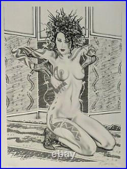 Olivia de Berardinis Firecrackers Robert Bane Edition 44/250 with Stamp MINT