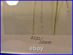 PRINT JAMES H. KILEEN/AL BARNES DUCKS UNLIMITED /stamp T LOT OF 2, SIGNED, NO#