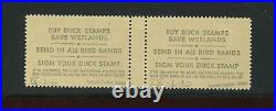 RW51x Federal Duck RARE Special Printing Mint Gutter Pair of 2 Stamps NH (RW51)